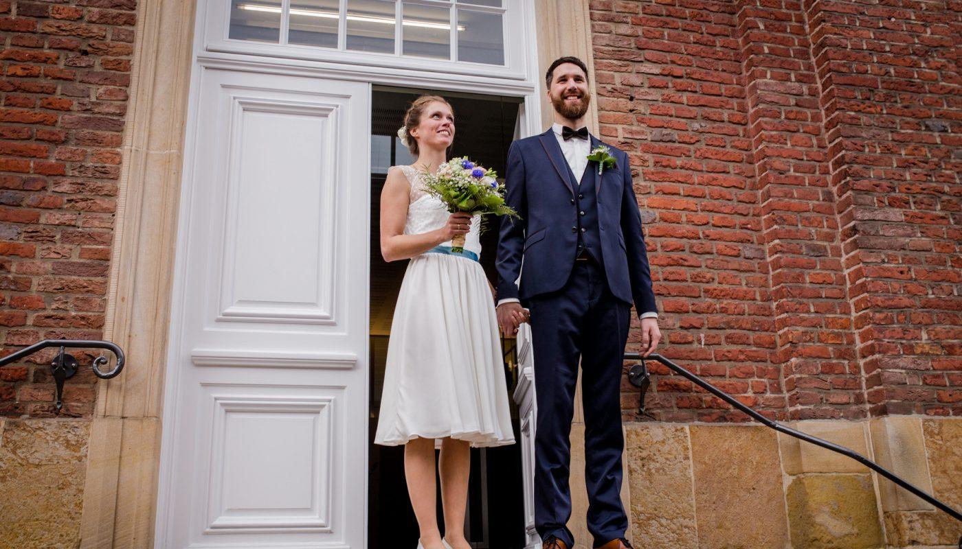 Hochzeit; Trauung; Wedding; Standesamt; Münster; Feier; Party; Paar