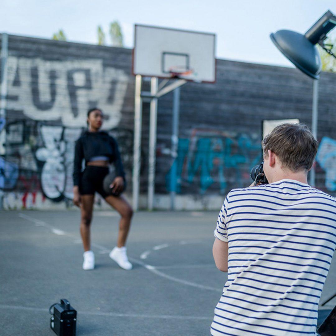 Reportage über Shooting mit einem münsteraner Fotografen