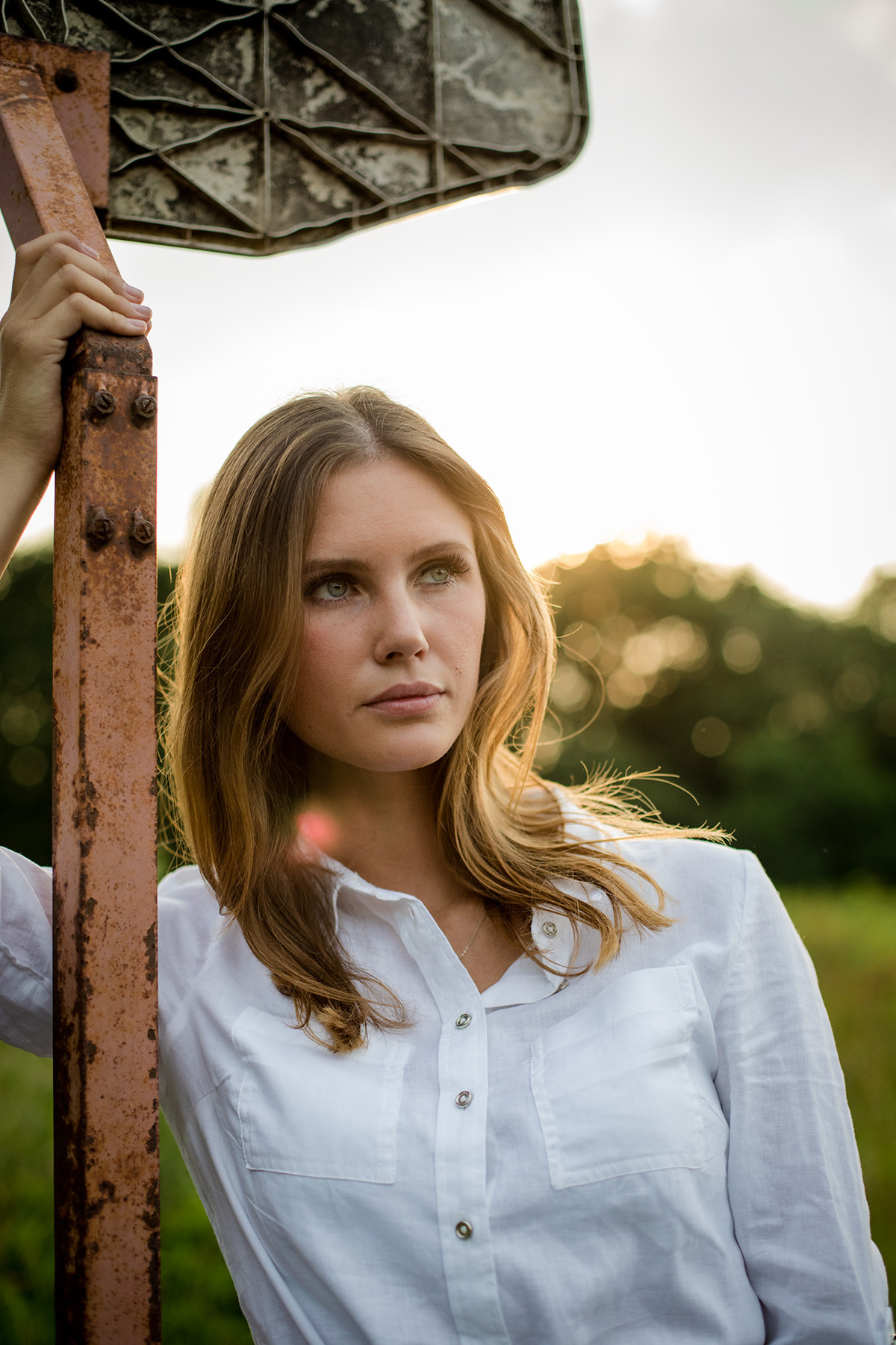 Beautyshooting; Beauty; Portrait; Sommer; Sunset; Fashion
