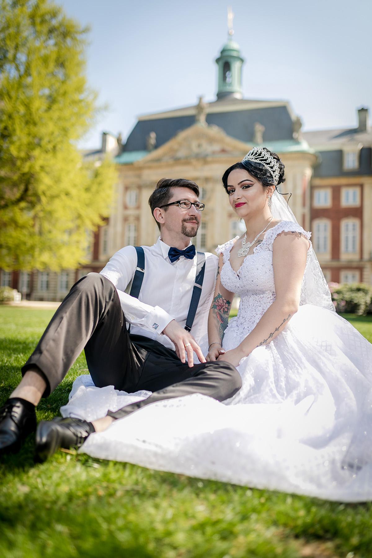 Hochzeit; Trauung; Wedding; Standesamt; Münster; Feier; Party; Paar; Brautpaarshooting